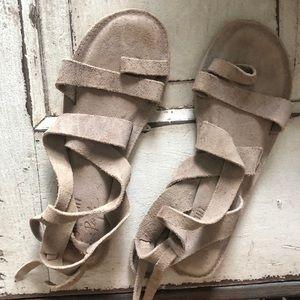 Free People + Faryl Robin Hide Tide sandal